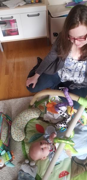 Auntie Brianne visit