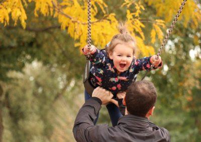 swinging is fun