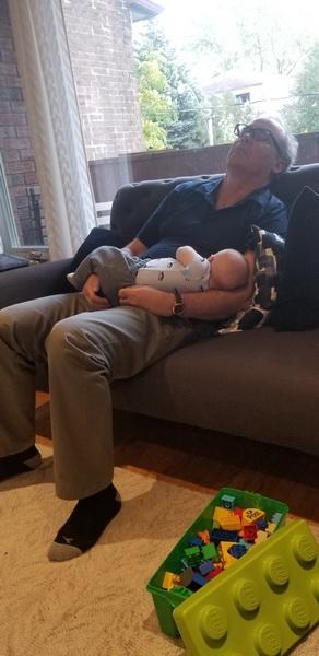 sleeping with grandad