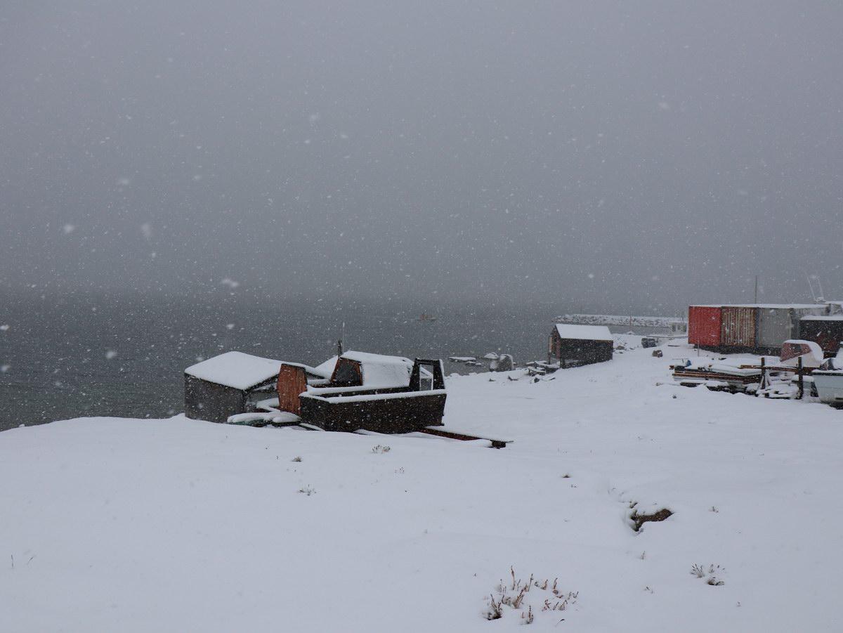 snow in Qikiqtarjuag