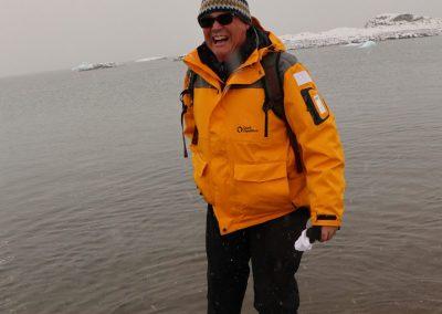 toe dipping at 75 degree north