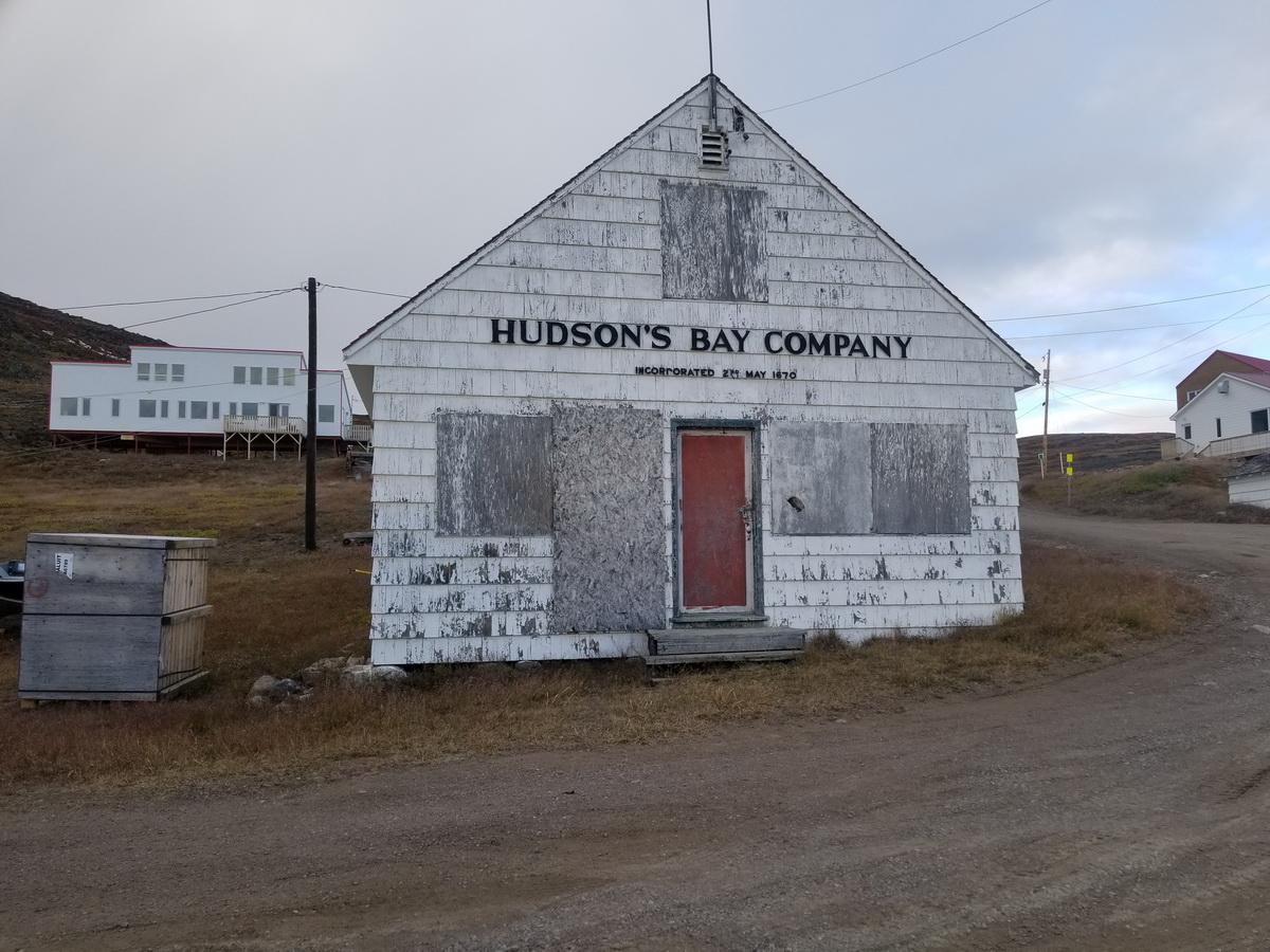 old post building in Iqaluit